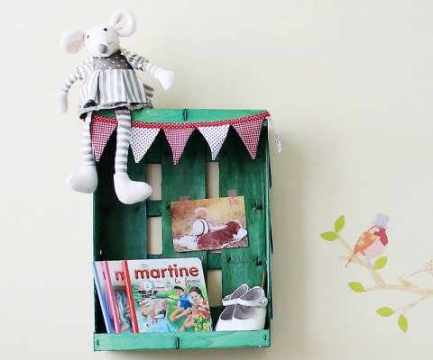 Decora tu casa con cajas yo no soy una princesa - Decorar cajas de fruta de madera ...