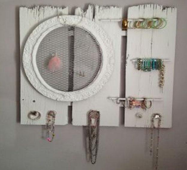 Organiza tus joyas de forma original yo no soy una princesa - Para colgar collares ...
